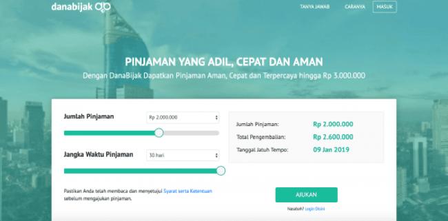 DanaBijak - Pinjaman hingga Rp 3.000.000
