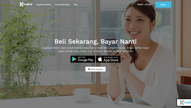 Kredivo App - Pinjaman hingga Rp 30.000.000